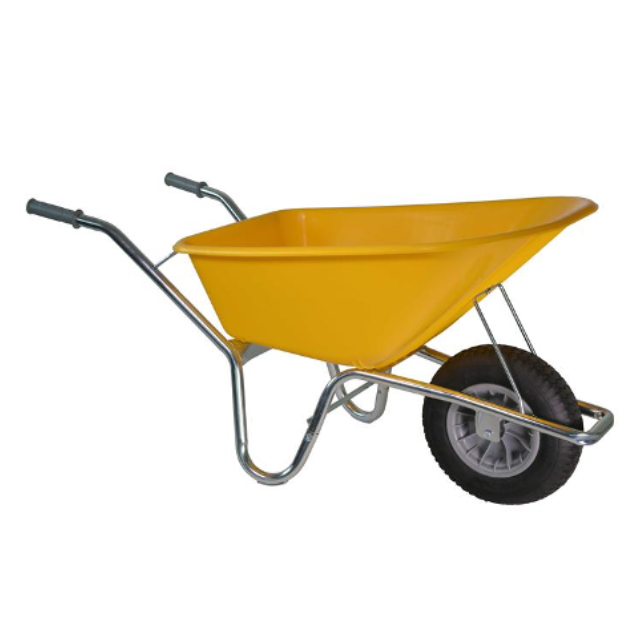 Kruiwagen geel 100 L